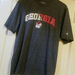 Like New--GA Bulldogs dri-fit shirt